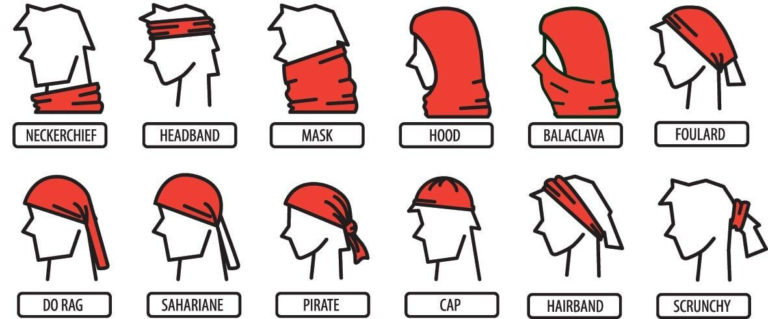 Как носить бафф